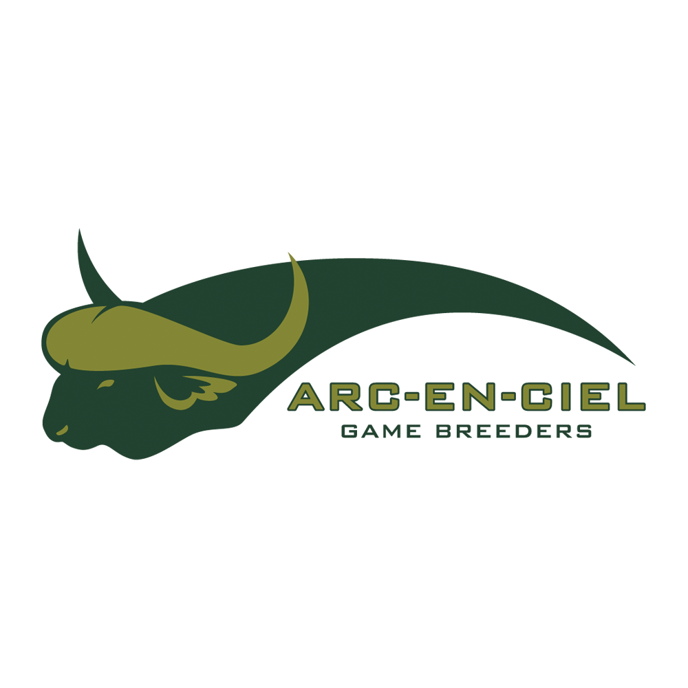 Logo design for Arc-en-ciel Buffalo Breeders