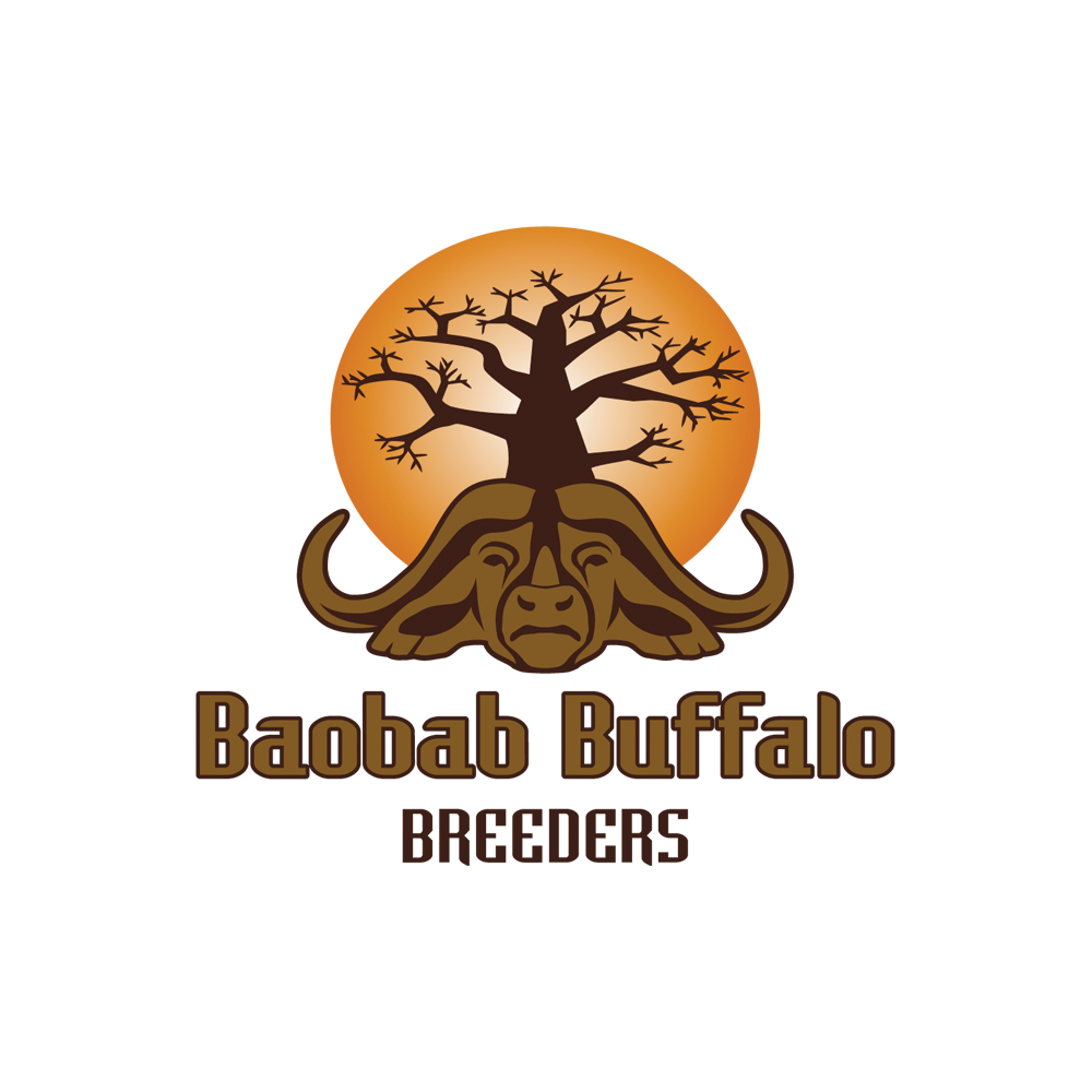 Logo design for Baobab Buffalo Breeders