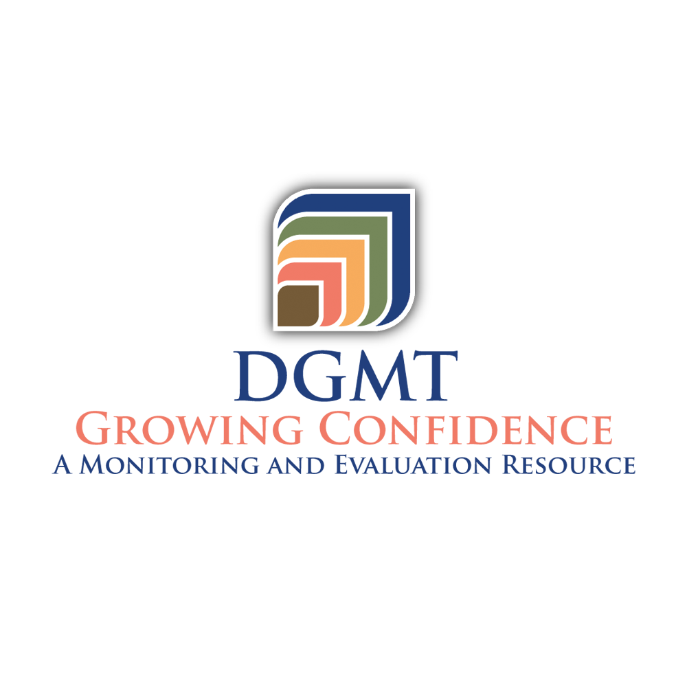 Logo design for DGMT Growing Confidence
